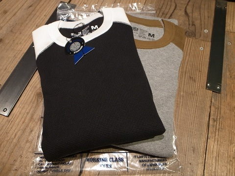 "BLUCO(ブルコ)""2PAC THERMAL SHIRTS/RAGLAN SLEEVE ""サーマル2枚組SET"