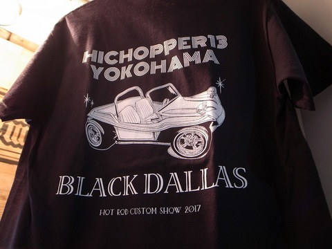 "HICOPPER13xBLACKDALLAS/ブラックダラス""DOOBIE BUGGY""(BLACK)Tシャツ"