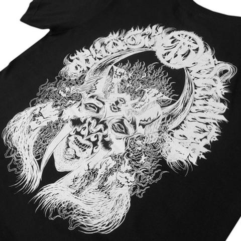 "BLACK DALLAS(ブラックダラス)""BURNER"" Tシャツ Artwork by Dense (デンス)"