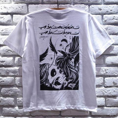 KOKUTEN Tシャツ/WHTxBLK/GRYxBLK/USUGROWウスグロ
