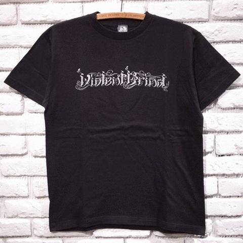 VIOLENT GRINDxToshikazu Nozaka 25th Tシャツ(ブラックxシルバー)バイオレントグラインド