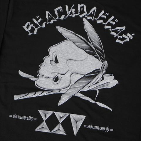 """BLACK DALLAS (ブラックダラス)""""BD25"""" Tシャツ Artwork by USUGROW(ウスグロ)"""
