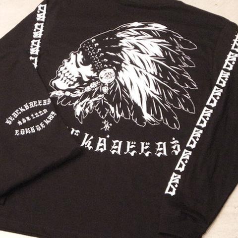 """BLACK DALLAS (ブラックダラス)""""BD M/G"""" ロンT Artwork by USUGROW(ウスグロ)"""