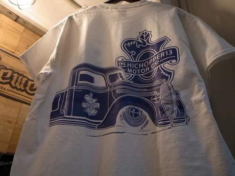 "HICOPPER13xBLACKDALLAS/ブラックダラス""38""(BLKxWHT/WHTxNAVY)Tシャツ"