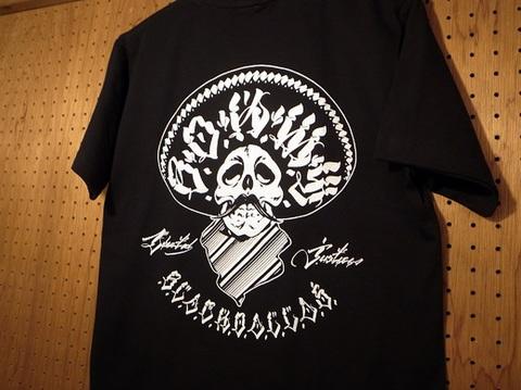 """BLACK DALLAS(ブラックダラス)""""Liberty&Justice 2""""Tシャツ(ブラック)Artwork by USUGROW(ウスグロ)"""