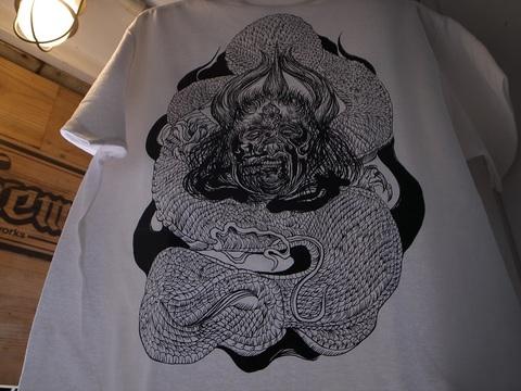 """BLACKDALLAS/ブラックダラスDENSE""""続く...""""Tシャツ(BLK/WHT/BLUE)デンス"""