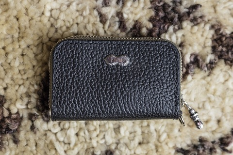 """PEANUTS&CO""""ORIGINAL LEATHER WALLET/BUSINESS CARD WALLET"""""""