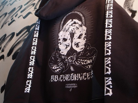 "BLACKDALLAS/ブラックダラス""BD CHRONICLE"" ZIP UP HOODIE"