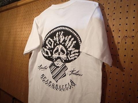 """BLACK DALLAS(ブラックダラス)""""Liberty&Justice 2""""Tシャツ(ブラック・ホワイト)Artwork by USUGROW(ウスグロ)"""