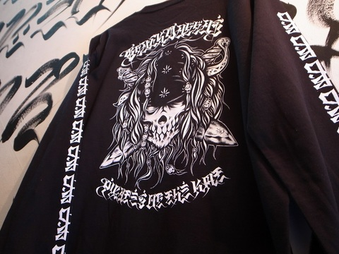 """BLACKDALLAS/ブラックダラス""""KMT PIRATES""""ロンT"""