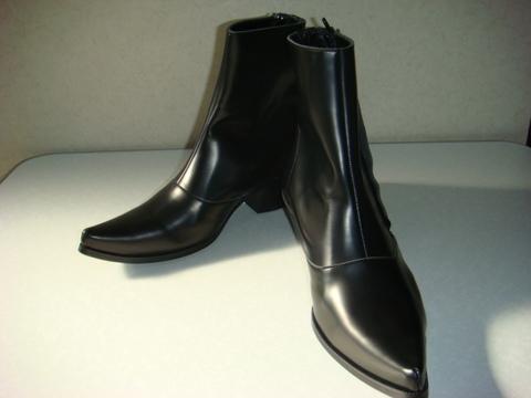 Outside Zipper Boots