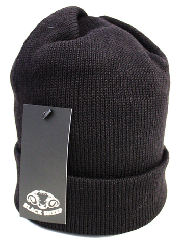 WT05-Knit Cap-Jet Black