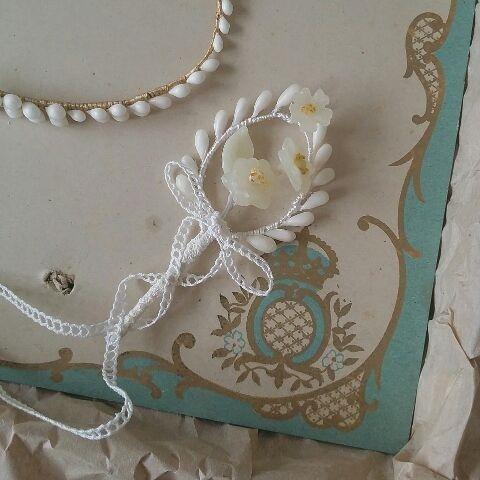 小花のブートニア