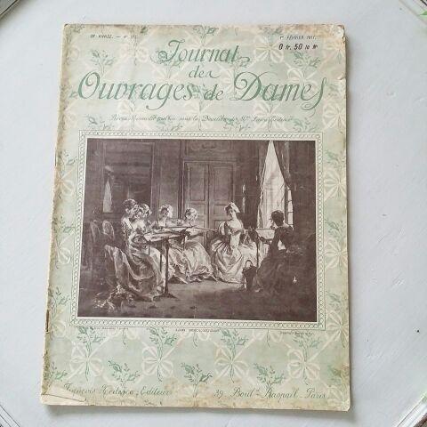 Journal Des Ouvrages de Dames 1911年