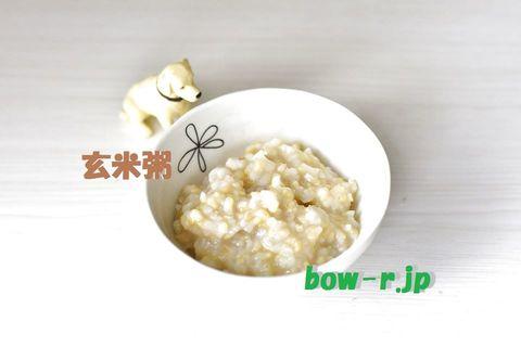 発芽煎り玄米粥