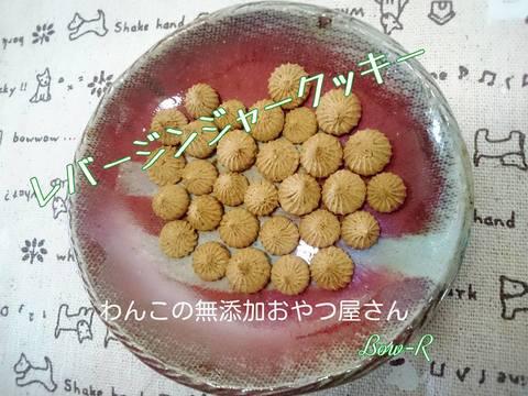 国産 無薬鶏レバージンジャークッキー 20g