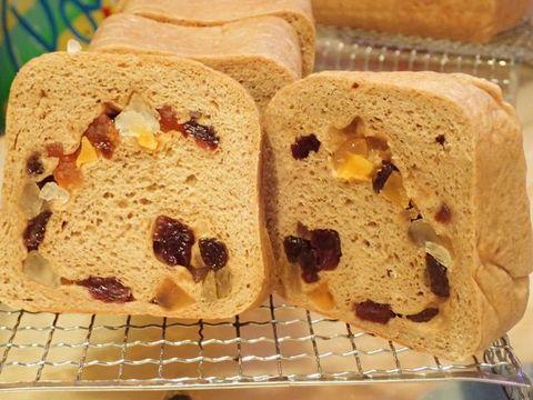 低糖質ふすまパン☆ドライフルーツ