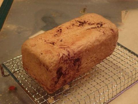 低糖質ふすまパン☆ココア