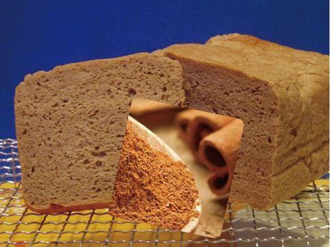 低糖質ふすまパン☆シナモン