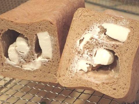 低糖質ふすまパン☆クリームチーズ