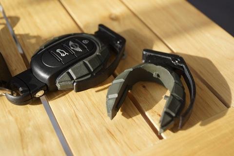 F型BMWミニ用KeyFob グレネードデザイン