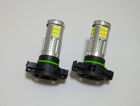 [強烈な輝度 2500ルーメン] LEDフォグランプ/Epistar 3030 LED/2500LM(ホワイト・イエロー)PSX24W