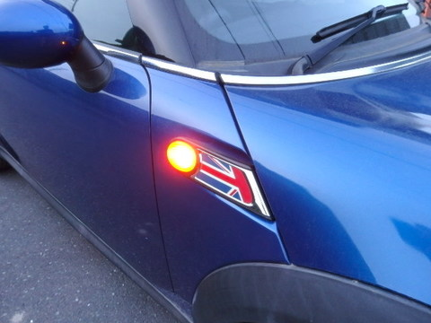 BMW MINI/LEDサイドターンインジケーターランプ(サイドマーカー)R50・R53・R56 ONE/Cooper/Cooper S(前期/後期)