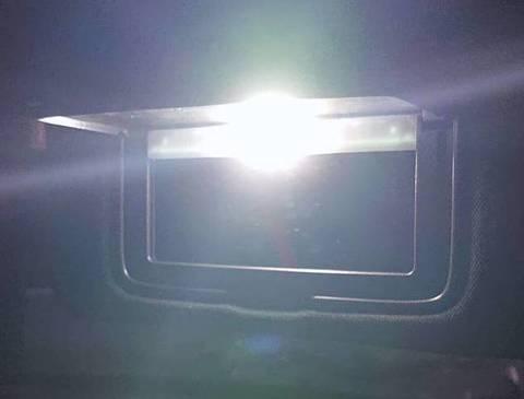 NISSAN GT-R/LED(SMD5050) バニティ(バイザー)ランプ/GTR R35(2020~)