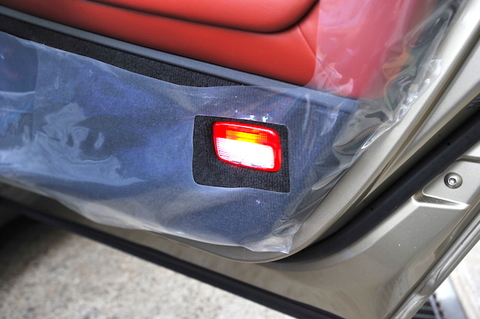 NISSAN GT-R 専用 POWER COB LEDドアカーテシランプ/GTR R35(2014〜)