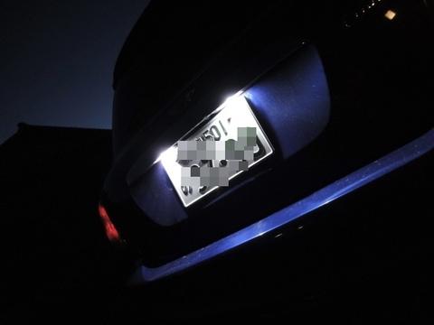 BMW MINI/LEDナンバー灯/R56 ONE/Cooper/Cooper S/前期・後期