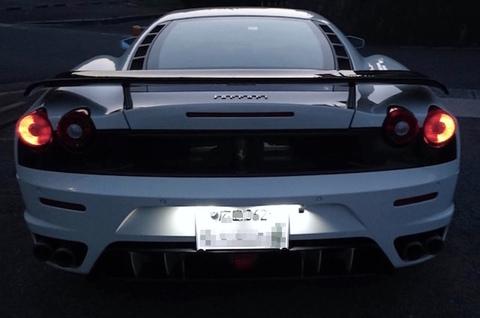 Ferrari F430/LED(SMD2835)ライセンスランプ(ナンバー灯)フェラーリ F430