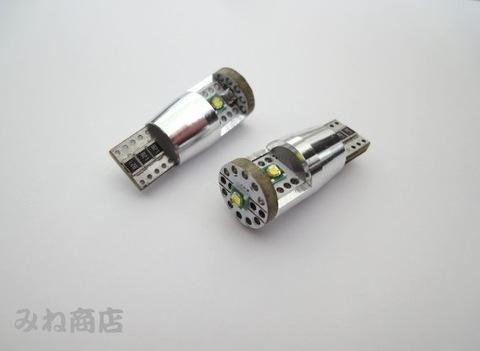 T10/球切れ警告灯キャンセラー内蔵 LED/米国CREE XLamp XP-E R3(6000K)/12V車用