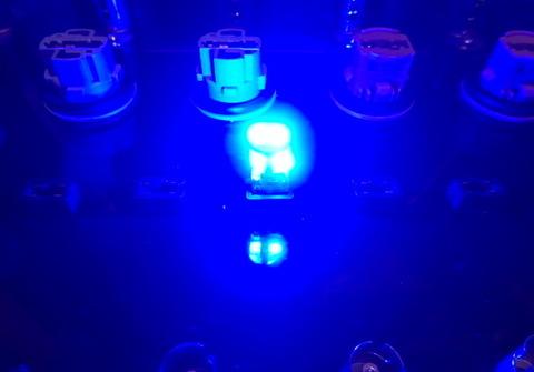 T10/Epistar 3030 Power LED/250LM/ブルー(青)2個セット [T10最強の光束]
