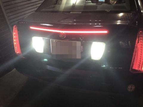 Cadillac STS/2835 Epistar LEDバック(リバース)ランプ/キャデラック・STS(2005〜2011)
