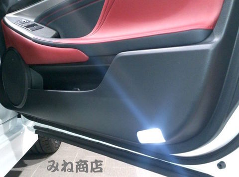 LEXUS RC350/300h/F専用 LED(SMD)ドアカーテシランプ!! AVC10/GSC10/USC10
