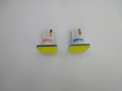 T10/2,5W POWER COB LED (15mm x 15mm) ホワイト/6000K
