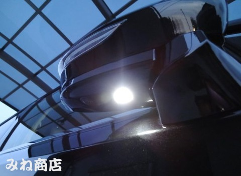 21系マジェスタ Epistar 3030 Power LED ドアミラーウエルカムランプ GWS214(前期/後期)