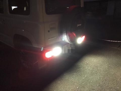 スズキ ジムニー JB64W/LG1818 CSP Power LED(1200LM)バックランプ/SUZUKI Jimny・JB64W