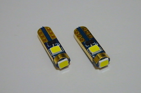 T5/Samsung 2835 Power LED/50LM/2個セット