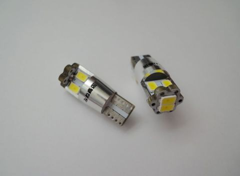 T10/SAMSUNG 5630 High Power SMD 6連/6000K・8000K(色温度別)