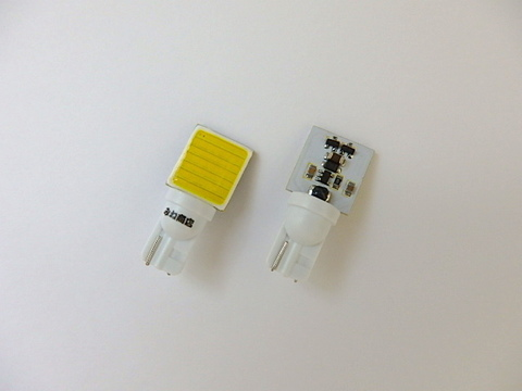 T10/2W POWER COB LED (15mm x 16mm) ホワイト/6000K