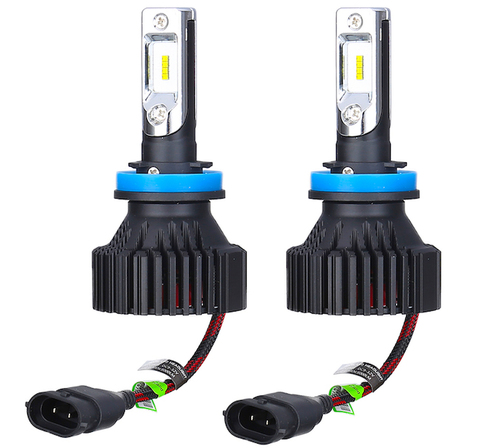 LEDヘッド&フォグライト(H8/H9/H11/H16jp 兼用)PHILIPS(Lumileds)-ZES/8000lm(6500K)車検対応 [正規代理店経由]