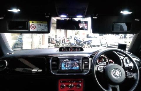 フォルクスワーゲン ザ・ビートル/LED (SMD) ルームランプセット/VW The Beetle・16CPL