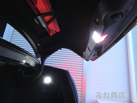 メルセデスベンツ Cクラス W204/Monster LEDラゲージ&バニティミラー&グローブボックスランプ/Benz-C/W204