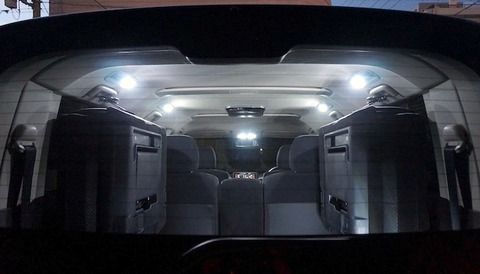 三菱デリカD:5/LED2835(SMD)ルームランプセット/DELICA D:5