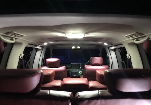 日産エルグランド・E51/LED(SMD) ルームランプセット/Nissan ELGRAND E51