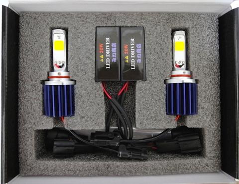 [値引き/セール] LEDフォグランプ/HIGH LUMEN POWER COB LED FOG LAMP KIT/2200lm (2800K/ゴールドイエロー) HB4 (9006)