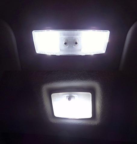 Nissan DAYZ/2835 Power LED フロント&リアルームランプ/日産デイズ B21W