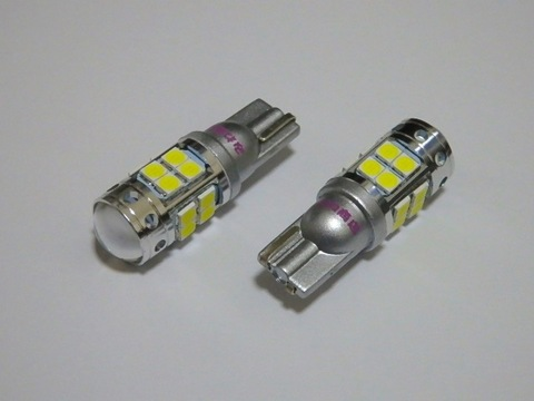 ハイルーメン Epistar 3030(SMD) 18連/T16/2個セット/700LM(6500K)