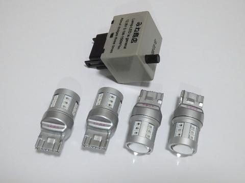 LEXUS RX270/RX350/RX450h /ウインカーランプ LED キット/Epistar 2835LED(500LM)ウインカーステルス化タイプ